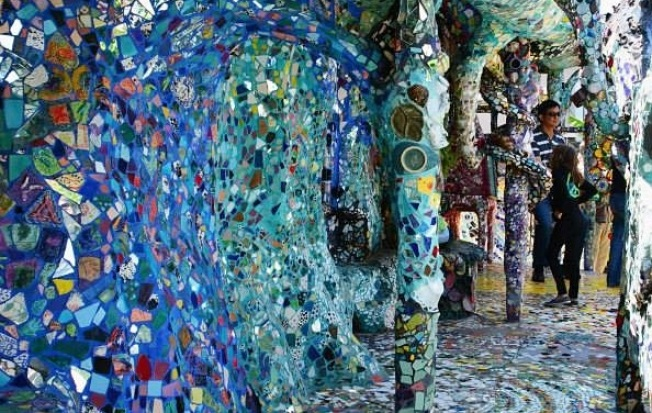 Venice Adventure: Explore the Mosaic Tile House
