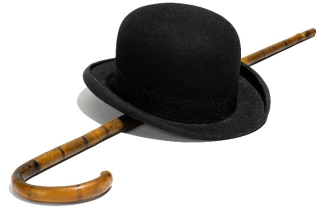 Bidding on Chaplin's Bowler