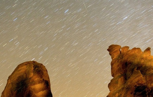 Starry Sleepover: Geminids, the Desert, the Night, and You