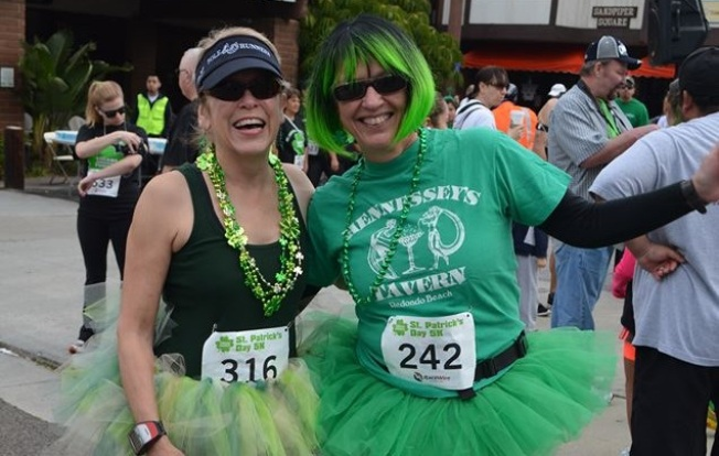 Green Up, Revelers, and Run Riviera Village