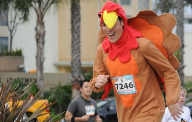 Table-Ready Togs Jog: Long Beach Turkey Trot