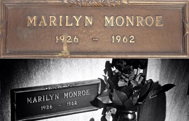 Auctioned: Marilyn Monroe's Grave Marker