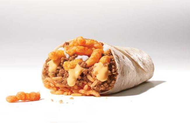 Taco Bell Testing Cheetos Burrito in US