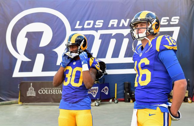 rams throwback jersey
