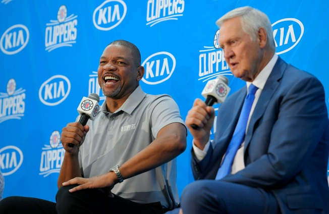 Clippers Confirm Hiring of NBA Hall-of-Famer Jerry West as Consultant