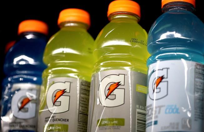 Gatorade punished for anti-water statements