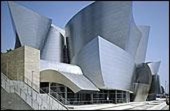 Gehry on Disney Hall, Grand Project:  To mark the fifth anniversary...