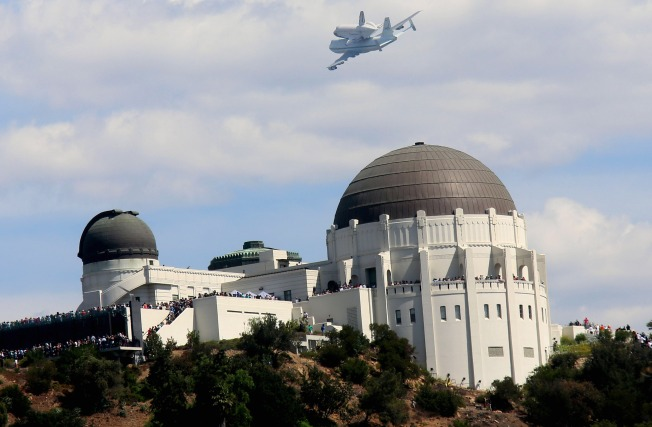 Historic Final Endeavour Journey Ends In Los Angeles Nbc
