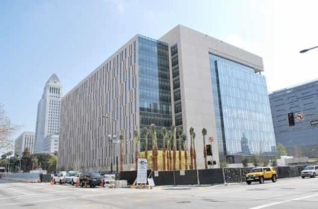 LAPD's New Headquarters, Big Transportation Contest