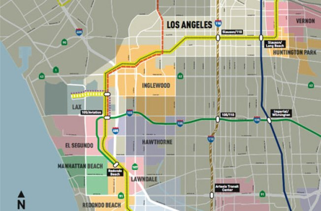 Scoped: Harbor Subdivision Transit Corridor Would Link LA to South Bay