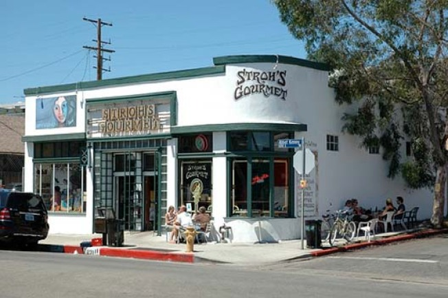 Discontinued: Stroh's Gourmet on Abbot Kinney