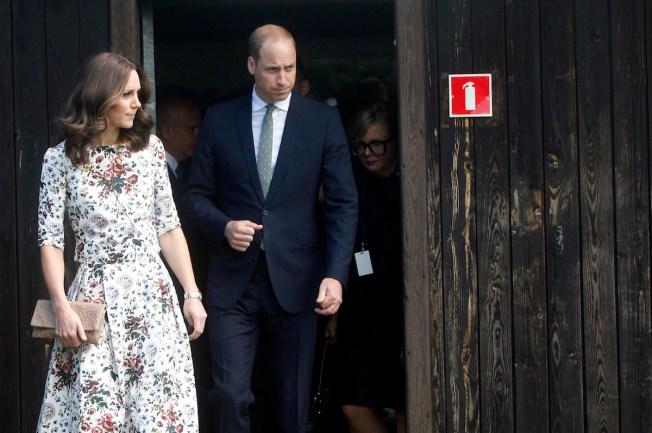 Prince William, Kate Visit Nazi Death Camp, Gdansk on Poland Trip