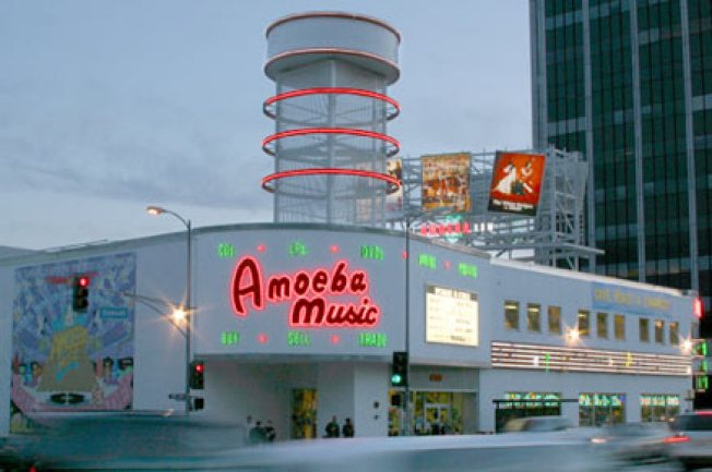 Amoeba's Garage Sale Spills Into Monday