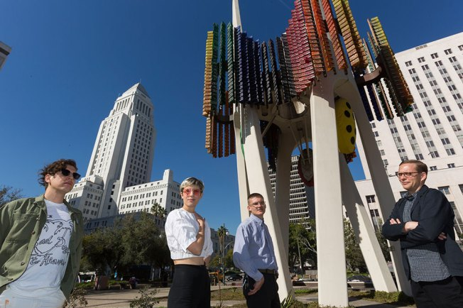 Widely Ridiculed 6-Story Los Angeles Artwork May be Revamped