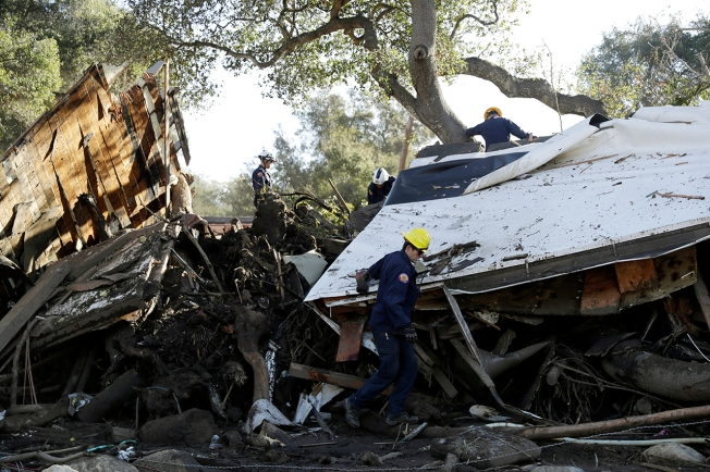 Mudslides cause devastation in California as death toll rises