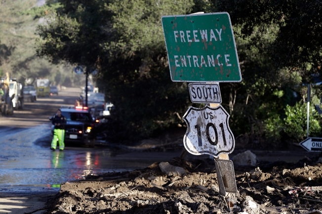 California mudslides death toll rises after woman's body is found