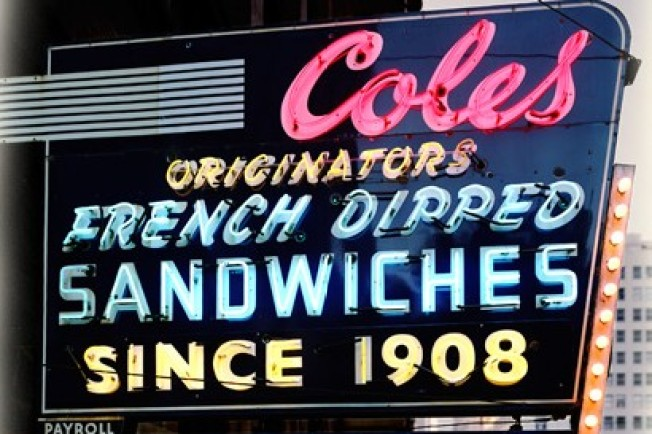 Bite a French Dip, Help Save LA's Past