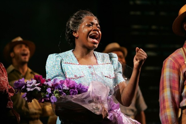 "Fantasia Stars in ""The Color Purple"""