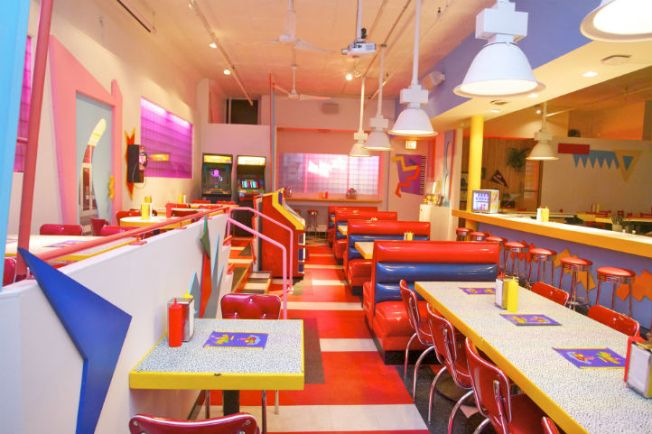 [LA - ONLY] We're So Excited!: 'Saved By the Bell'-Themed Pop-Up Diner Headed to Los Angeles