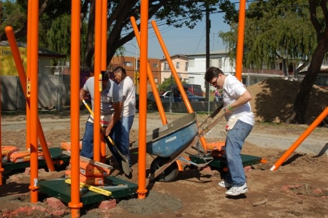 Playgrounds and Green Space Grow in Inglewood