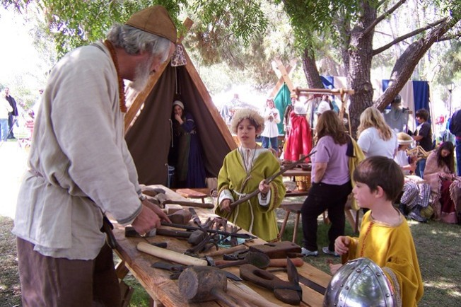 A Viking Encampment in Thousand Oaks