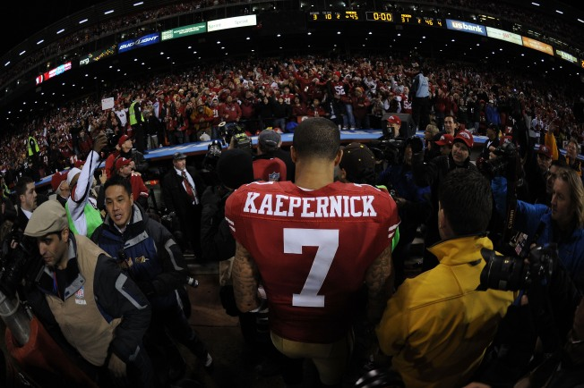 Kaepernick is Focal Point of NFC Championship Game