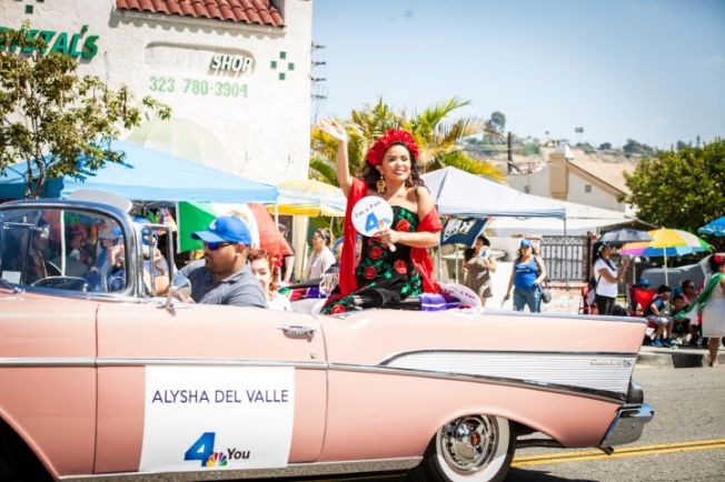 NBC4 and Alysha Del Valle Support the Mexican Independence Day Parade