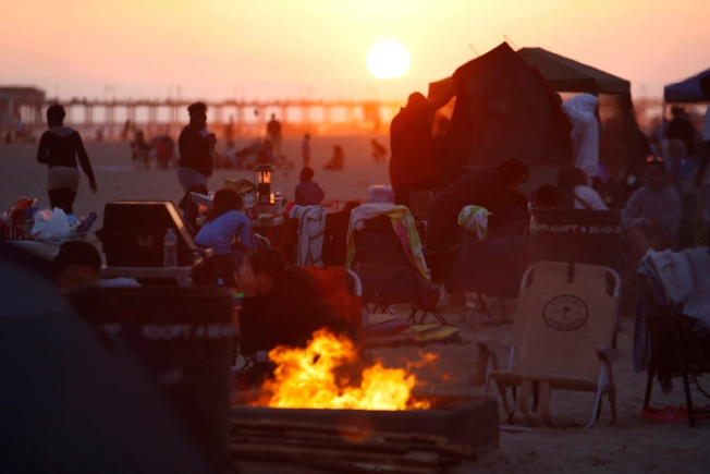 Bill to Keep Beach Fire Pits Moves Forward