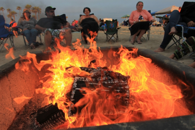 Breakfast of Champions - Natural Gas Beach Fires May Get OC Test - NBC Southern California