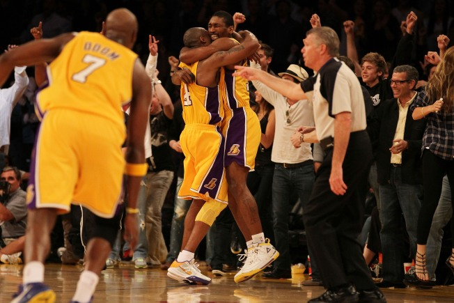 Ron Artest Saves Day for Lakers