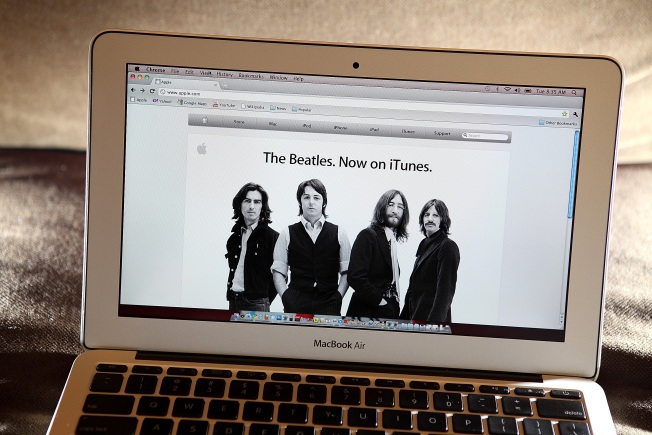 Beatles Sell 5 Million iTunes Songs