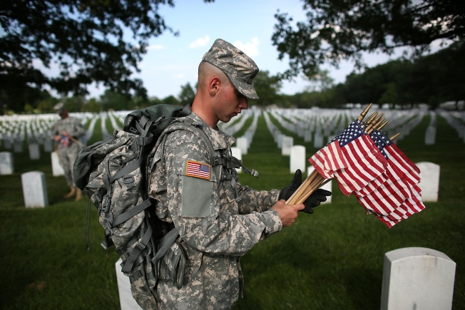 Volunteers Needed to Adorn Soldiers' Graves in Riverside With U.S. Flags