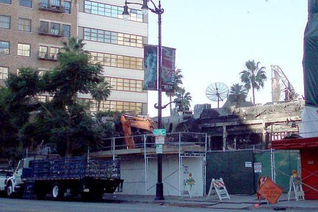 Hollywood Fires Update: Basque Demolished