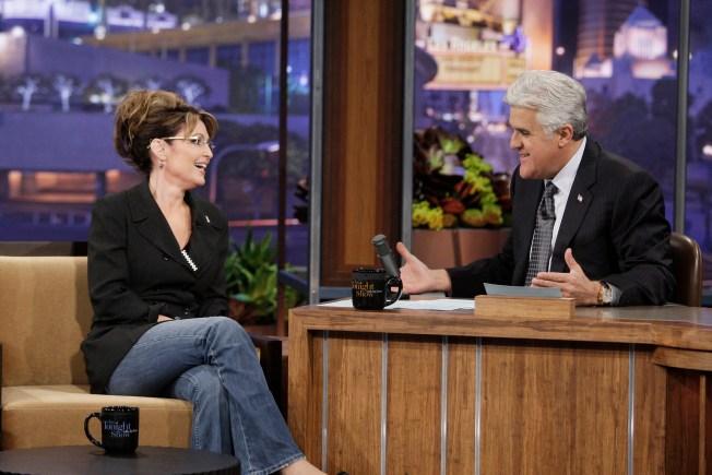 "Sarah Palin's New Gig: Late-Night Comedian on ""Tonight Show"""