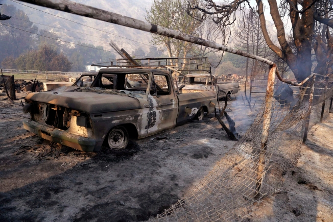[NATL-LA GALLERY] Sand Fire Destroys Old West-Style TV, Film Set Sable Ranch