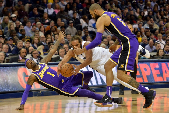 Lakers Playoff Hopes Falter in Memphis after 110-105 loss to Grizzlies