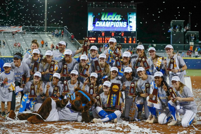 Rally To Be Held For UCLA NCAA Softball Champions