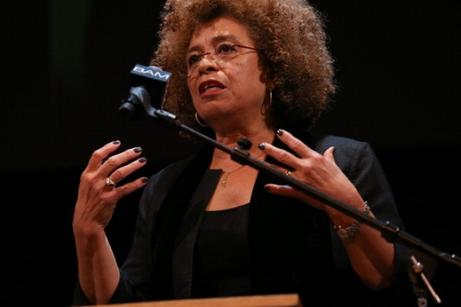 Activist Angela Davis Returns to UCLA