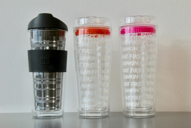 Dunkin' Donuts Glass Tumblers Recalled Due to Laceration and Burn Hazards