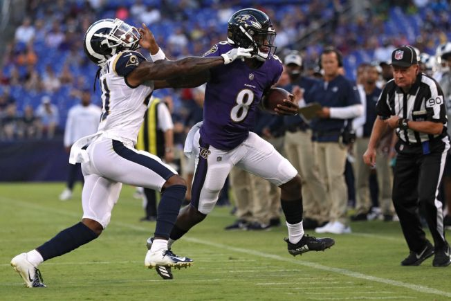 Rams Lose Preseason Opener in 33-7 Rout by Ravens