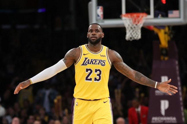 54a50d95fc2b Lakers  LeBron James Passes Michael Jordan for Fourth on NBA All ...
