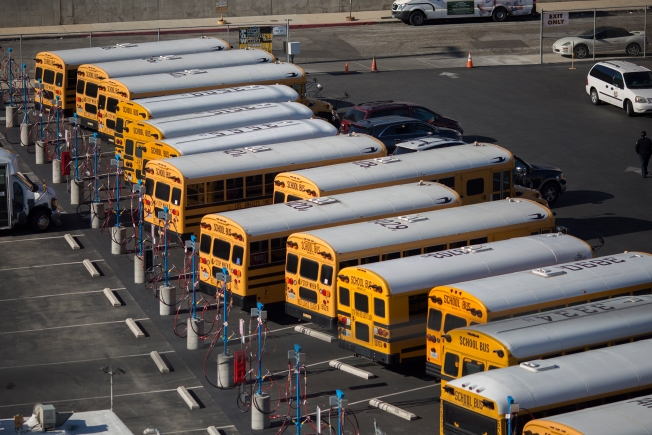CHP to Target Drivers Illegally Passing School Buses