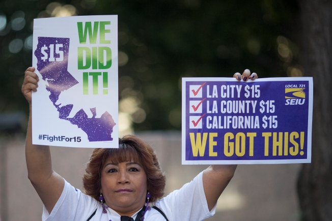 Minimum Wage in Los Angeles Increases to $10.50, $12 Per Hour