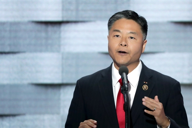 Democrat Ted Lieu Walks Out of Moment of Silence for Texas Victims