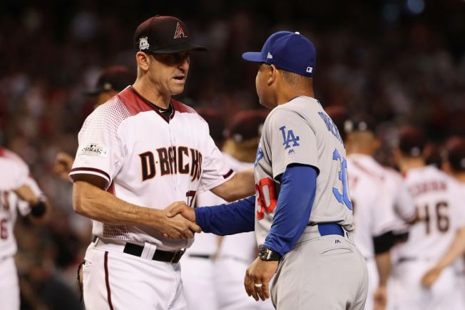 Diamondbacks manager Torey Lovullo named National League Manager of the Year
