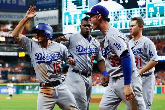Dodgers' Thrilling 10-Inning Slugfest With Astros Among Best Games of the Year
