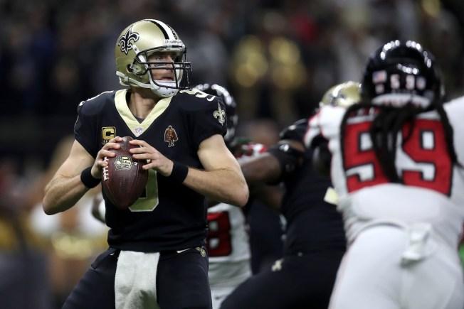 Saints Beat Falcons, Clinch NFC Playoff Berth