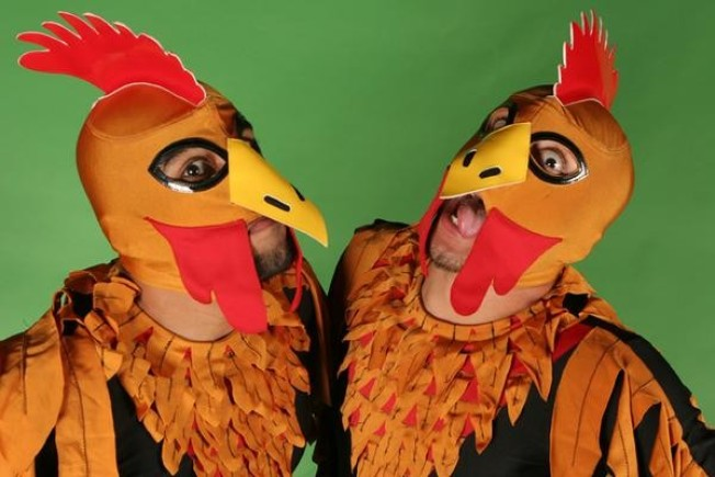 Crazy Chickens Set for Lucha's Halloween Shows