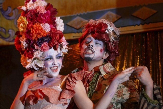 Vaudeville, DJs, Art, and Antics Mingle on V Day