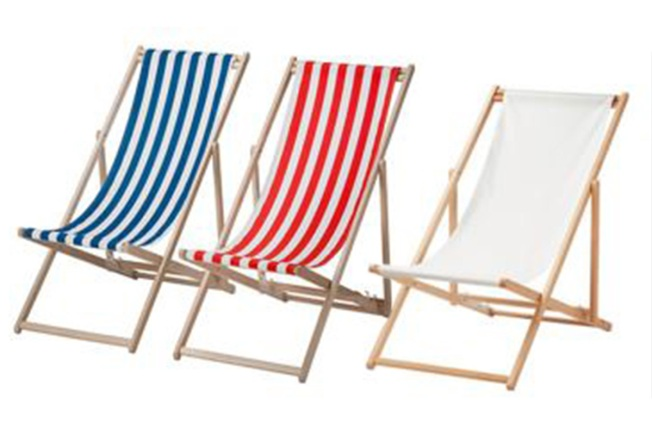 Ikea Recalls Beach Chairs Due to Fall and Fingertip Amputation Hazards